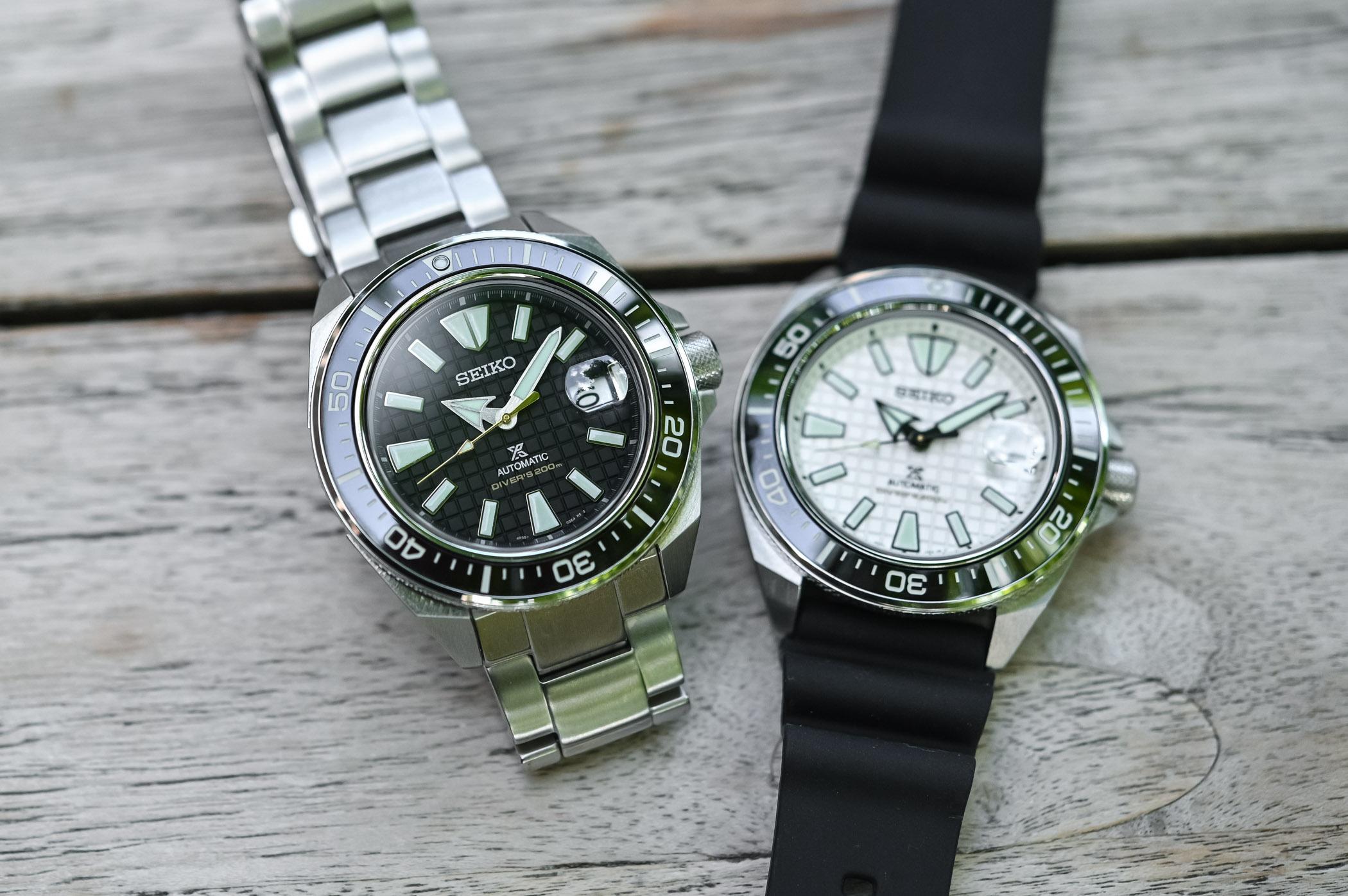 Seiko Prospex Diver King Samurai - SRPE37K1 - SRPE35K1