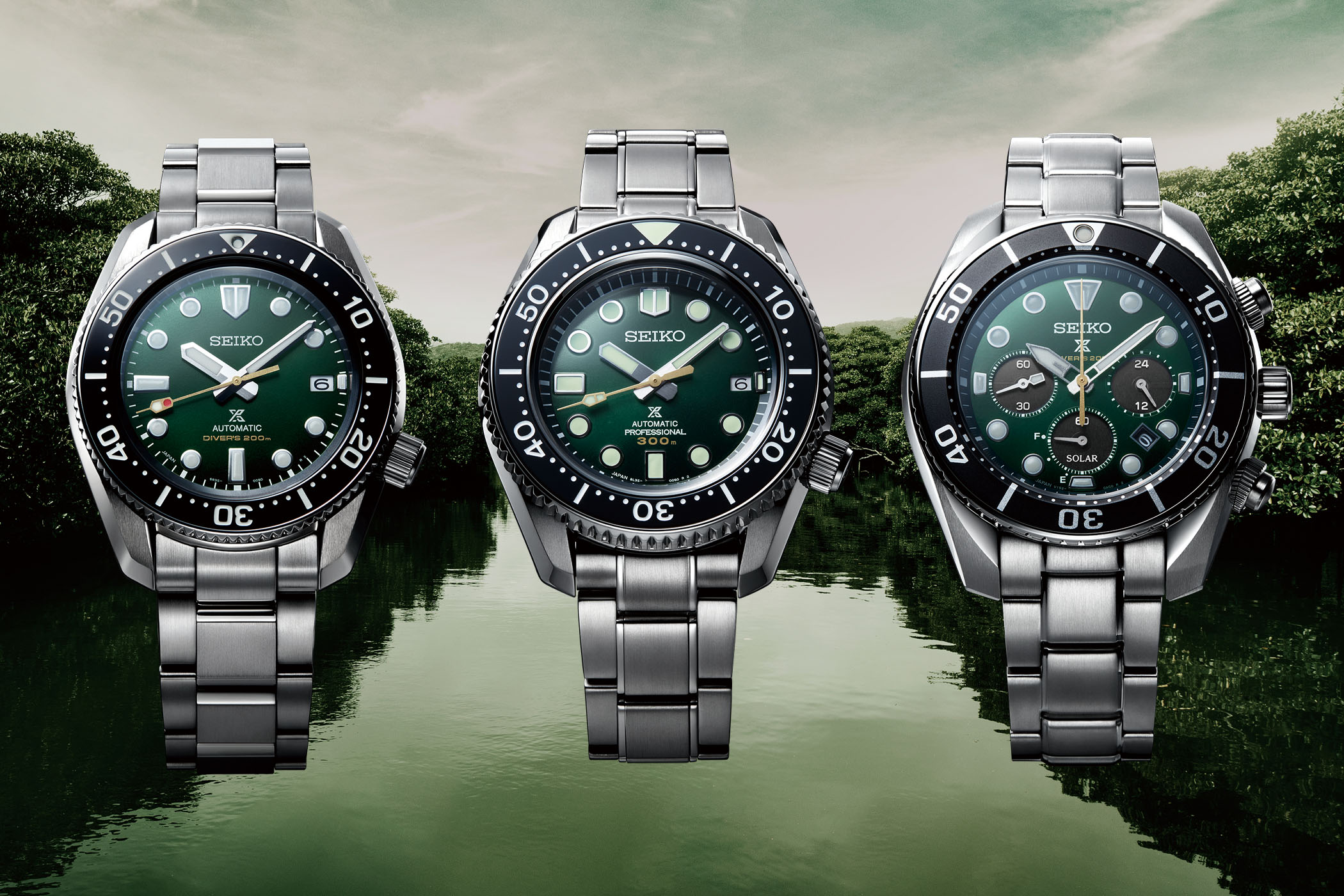 Seiko Prospex Divers 140th Anniversary Limited Editions SLA047, SPB207 and SSC807