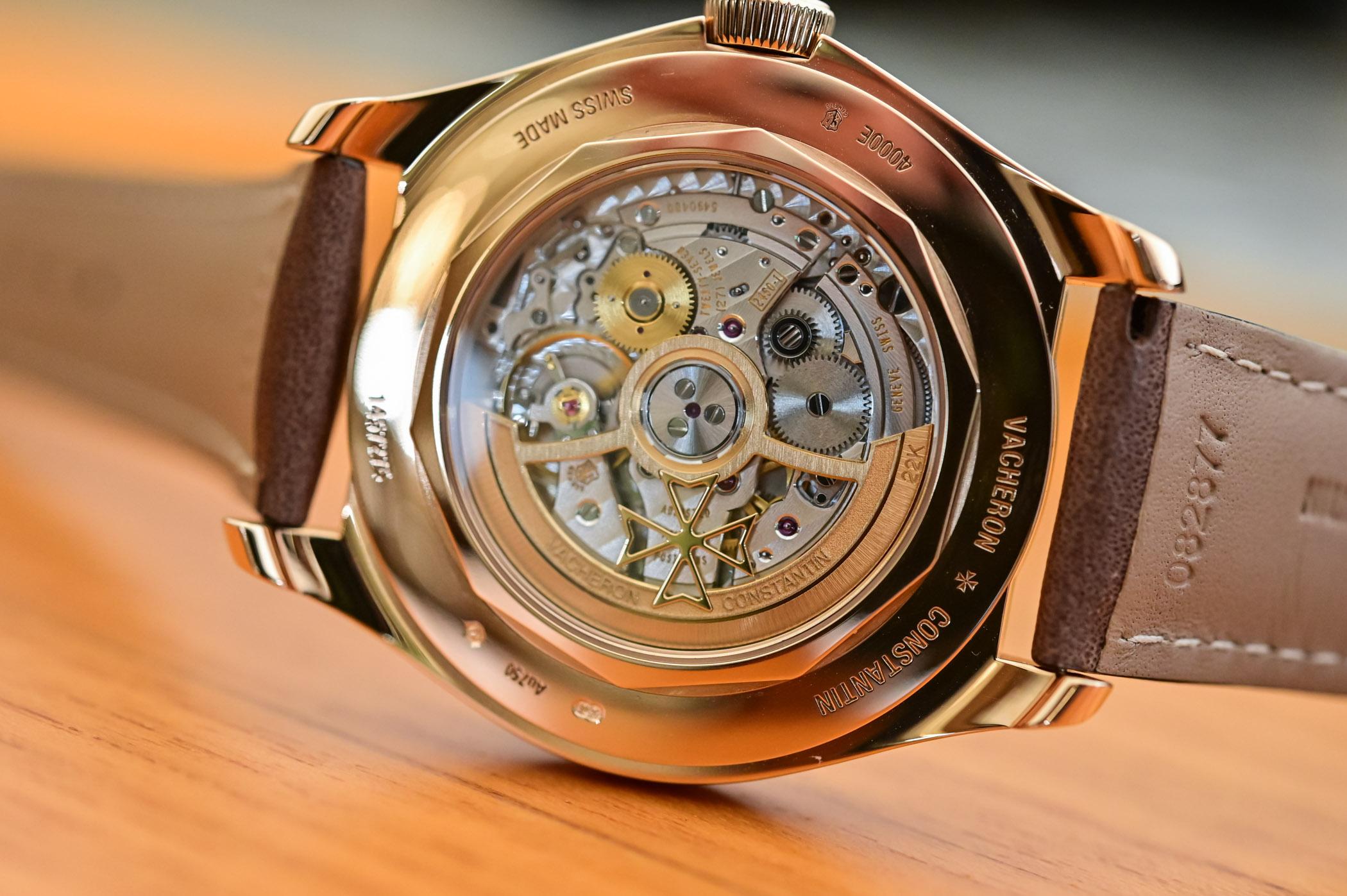 Vacheron Constantin Fiftysix Sepia Brown Complete Calendar 4000E/000R-B065