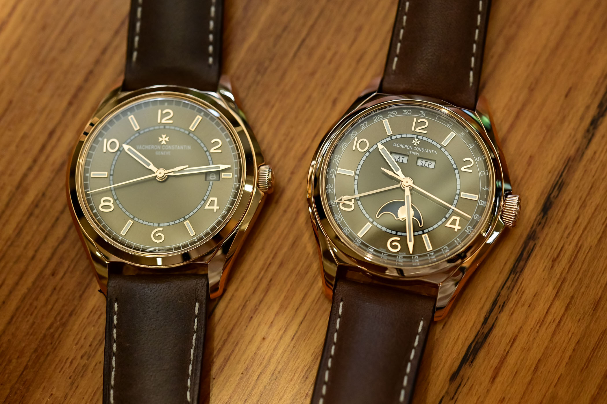 Vacheron Constantin Fiftysix Sepia Brown Collection