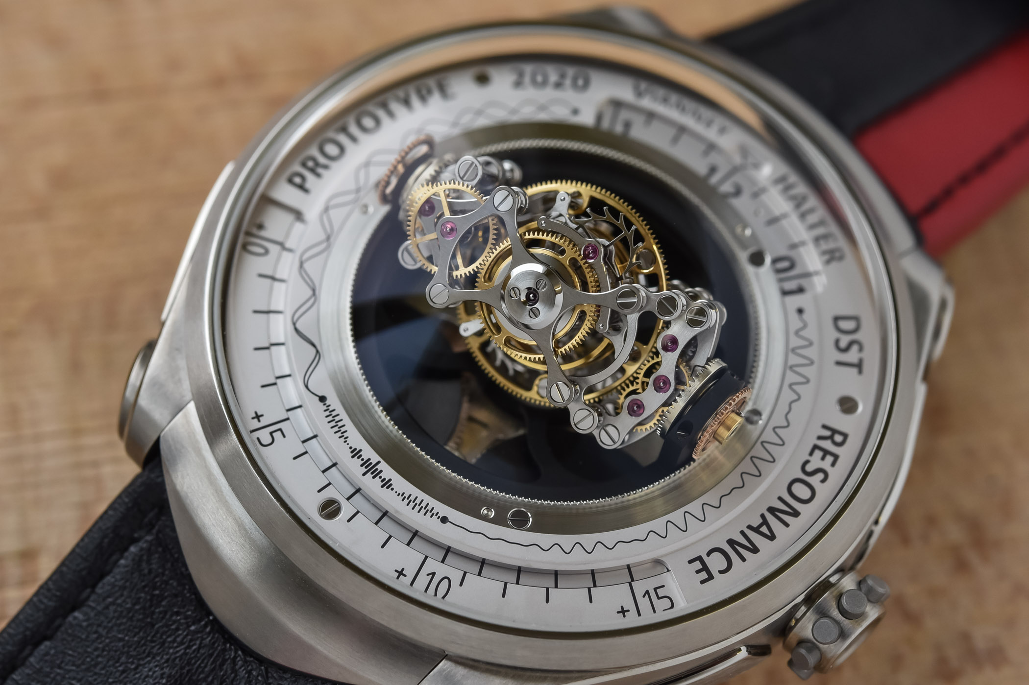 Vianney Halter Deep Space Resonance Tourbillon Prototype