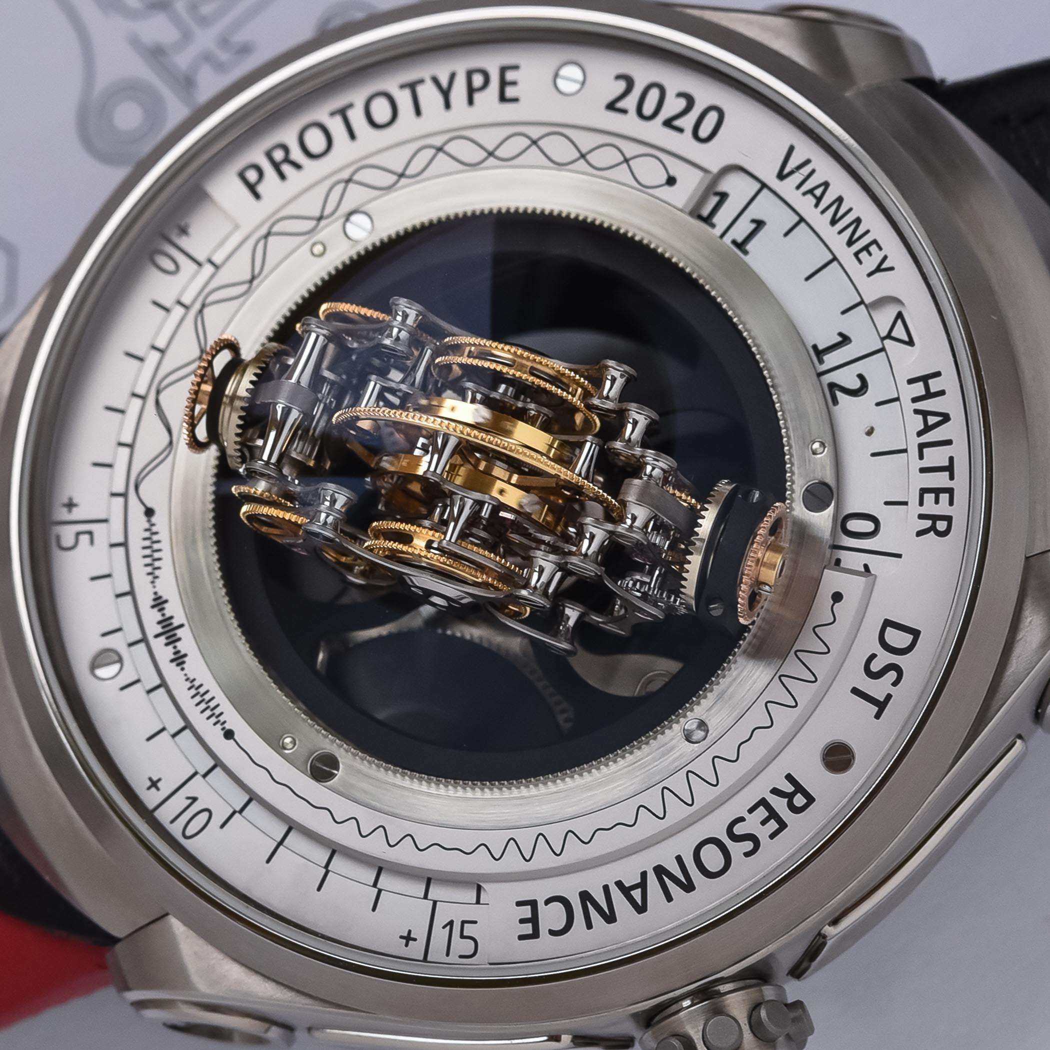 Vianney Halter Deep Space Resonance Tourbillon Prototype