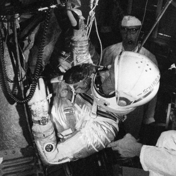 Wally Schirra First Omega in Space Speedmaster CK2998 - 3