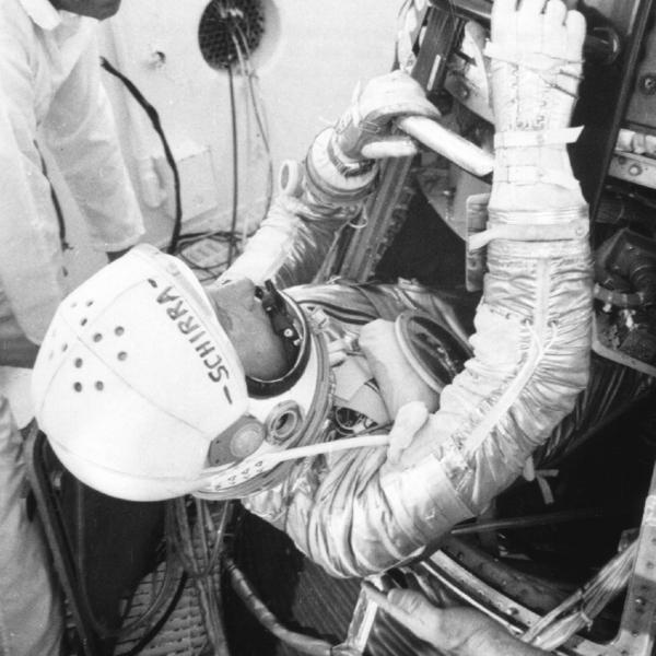 Wally Schirra First Omega in Space Speedmaster CK2998 - 4