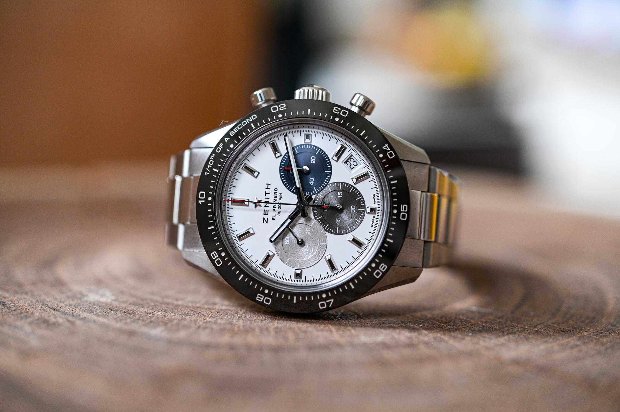zenith chronomaster sport white dial