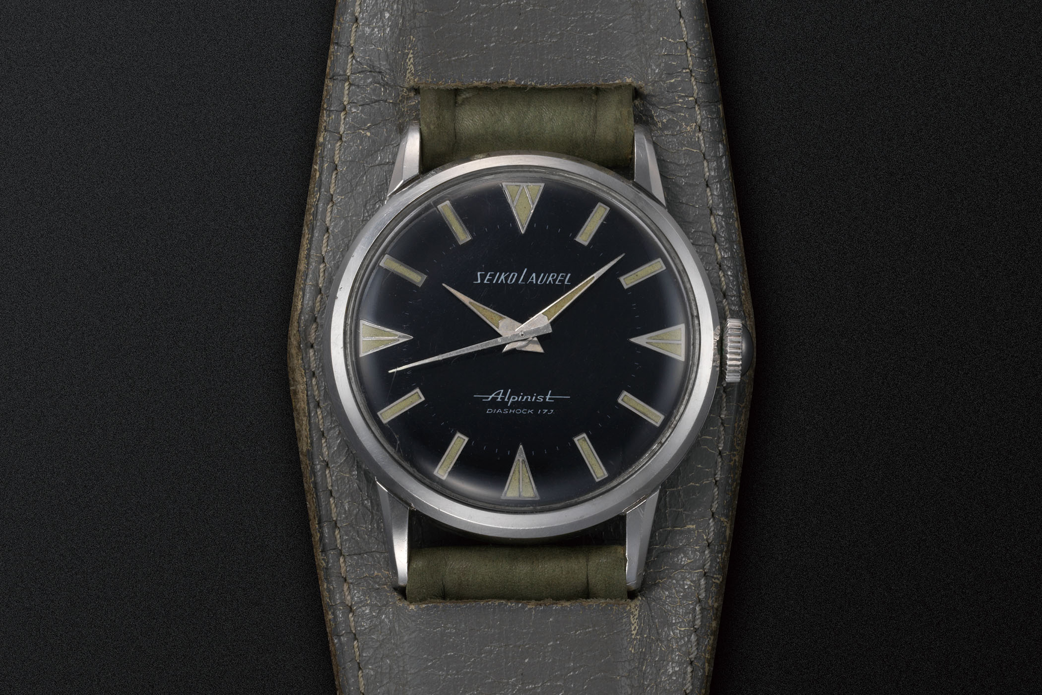 1959 Seiko Alpinist Seiko's first sports watch