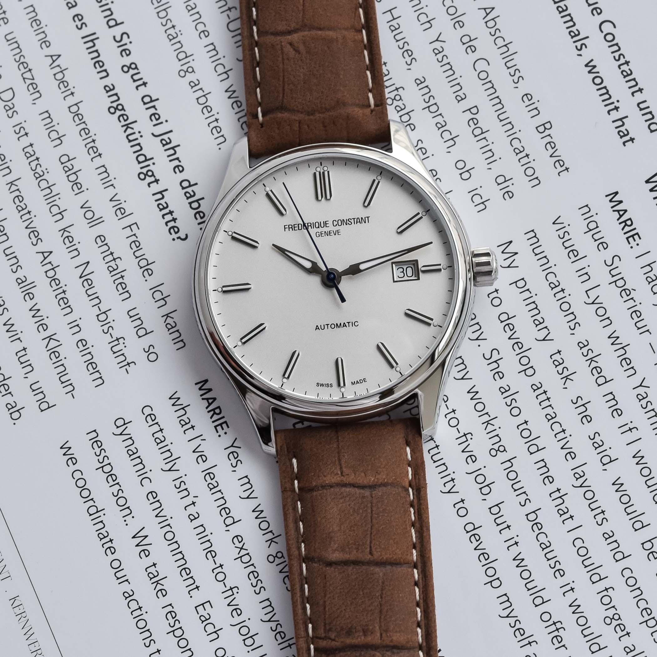 2021 Frederique Constant Classics Index Automatic