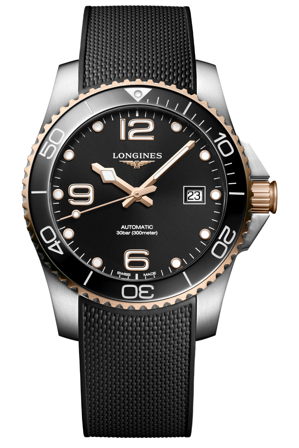 2021 Longines Hydroconquest 41mm Two-Tone Collection