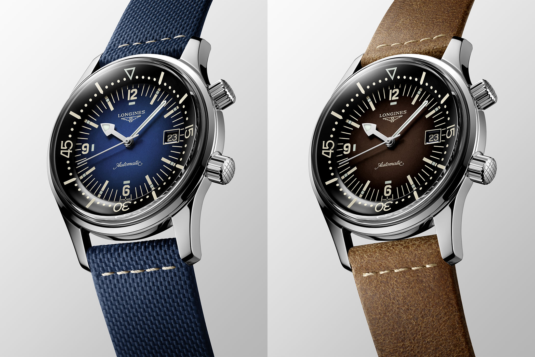 2021 Longines Legend Diver Gradient blue or gradient brown dial