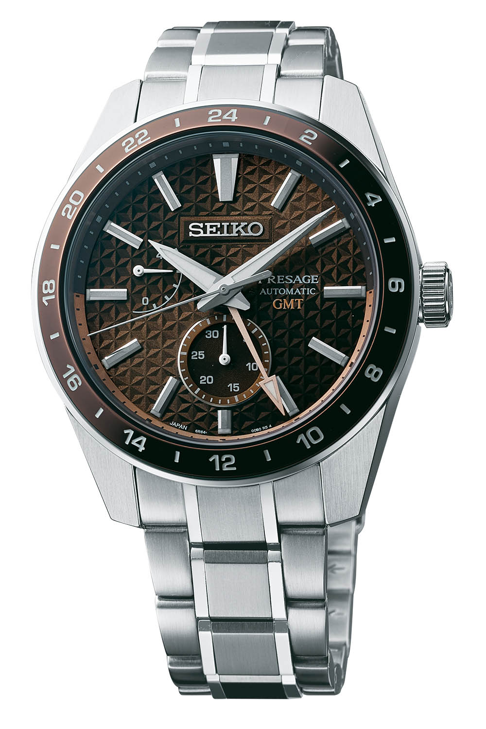 2021 Seiko Presage Sharp Edged GMT Collection SPB217J1-SPB219J1-SPB221J1-SPB225J1
