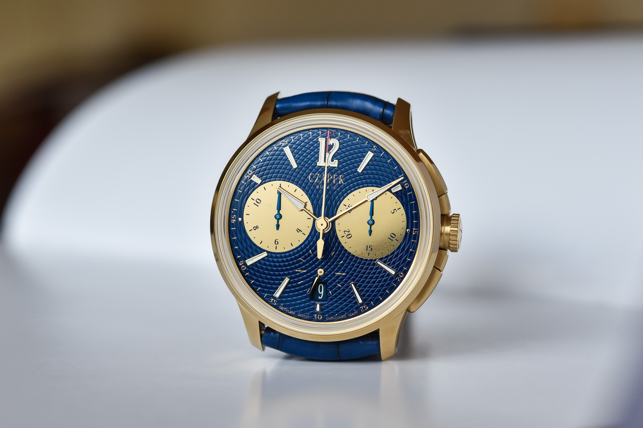 Czapek Faubourg de Cracovie Ocean d'Or Chronograph - 4