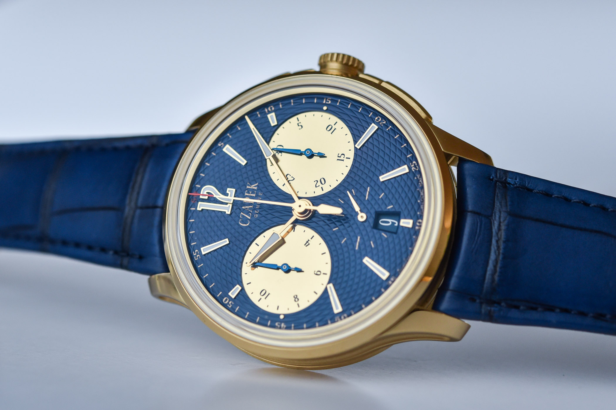 Czapek Faubourg de Cracovie Ocean d'Or Chronograph - 5