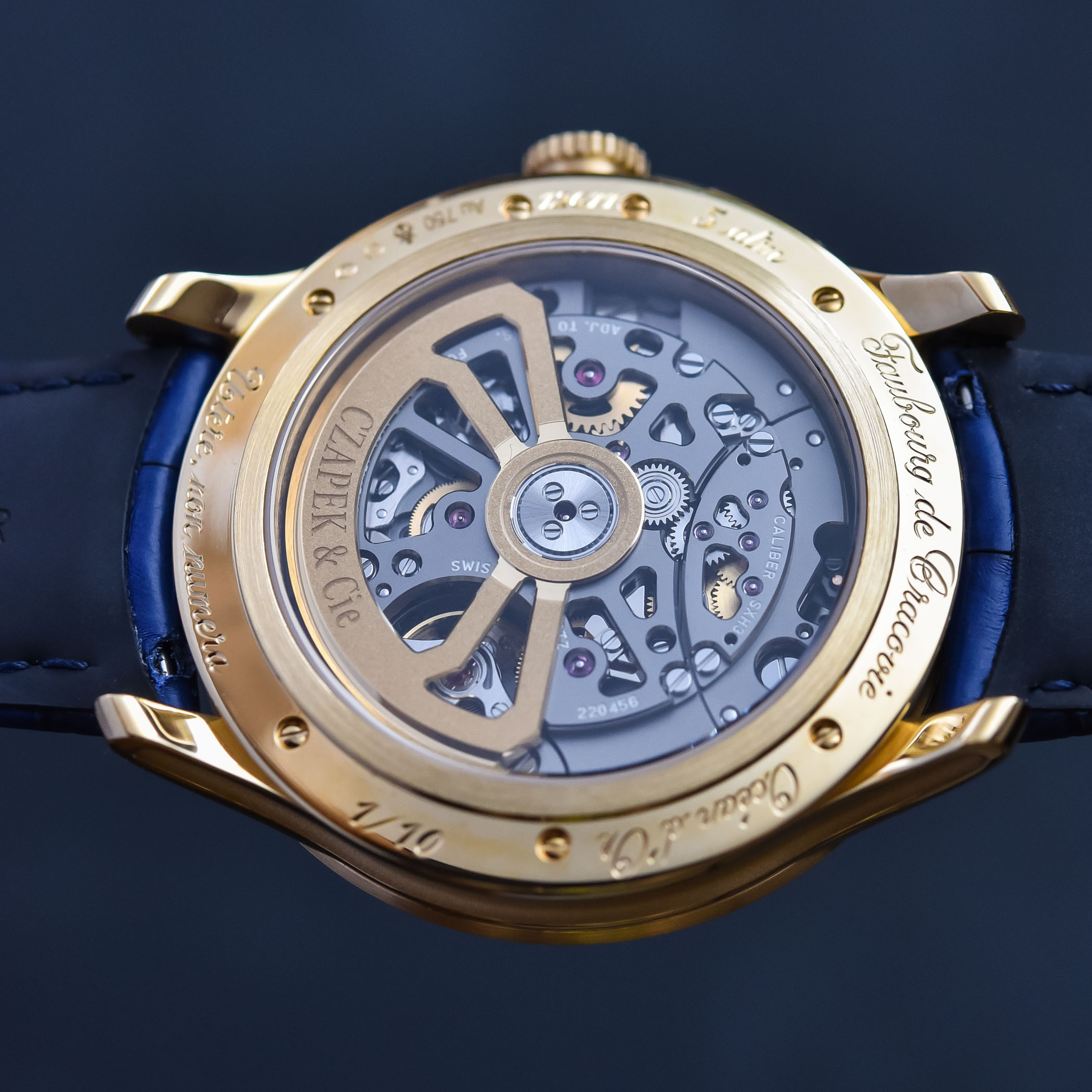 Czapek Faubourg de Cracovie Ocean d'Or Chronograph - 6