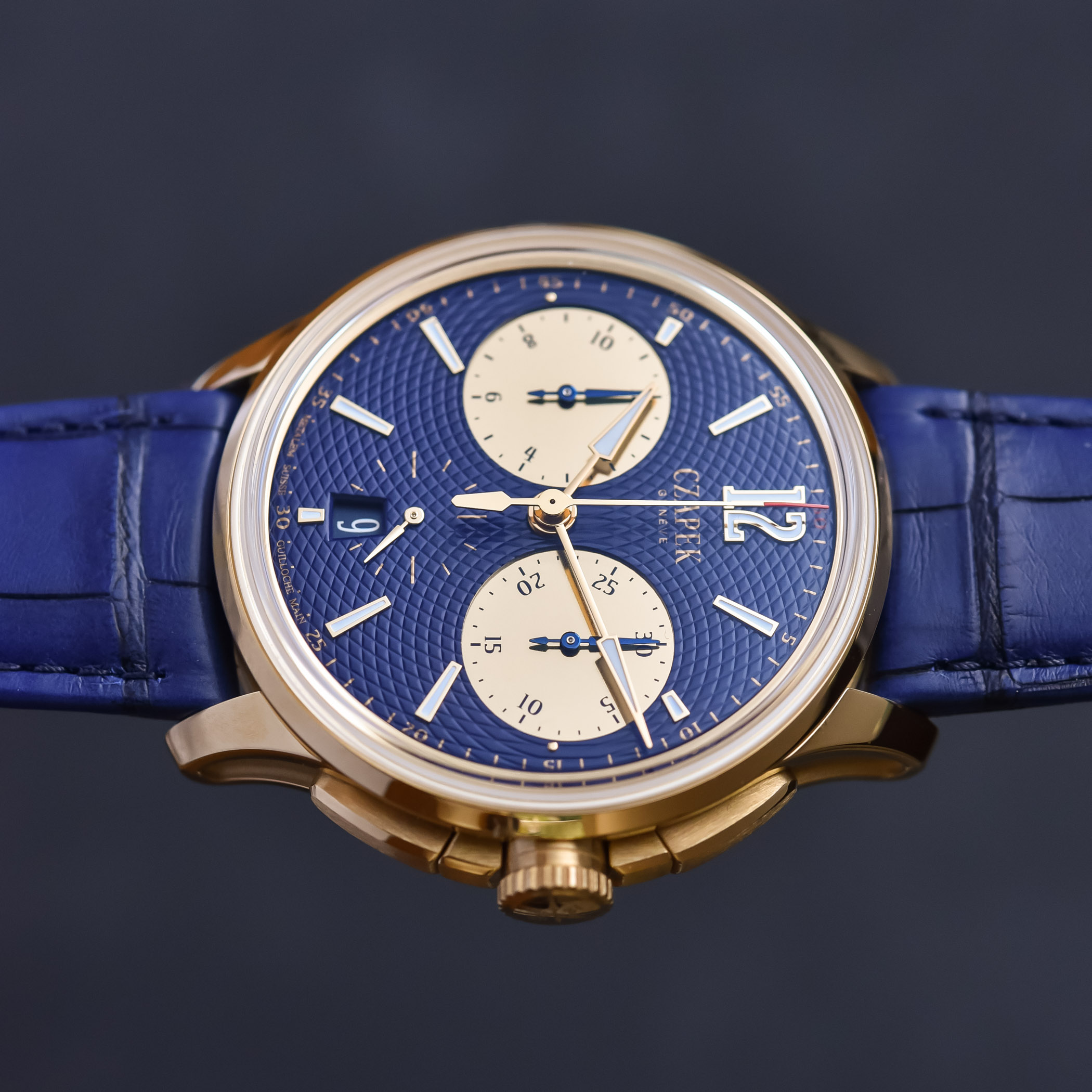 Czapek Faubourg de Cracovie Ocean d'Or Chronograph - 7