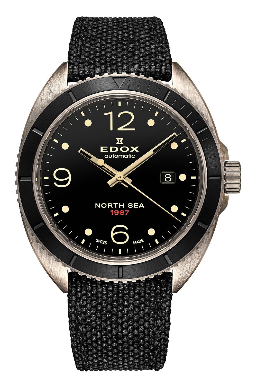 Edox North Sea 1967 Historical Bronze Limited Edition 80118-BRN-N67 - 7