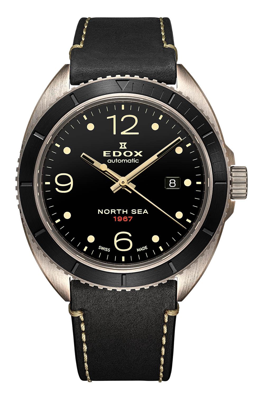 Edox North Sea 1967 Historical Bronze Limited Edition 80118-BRN-N67 - 8