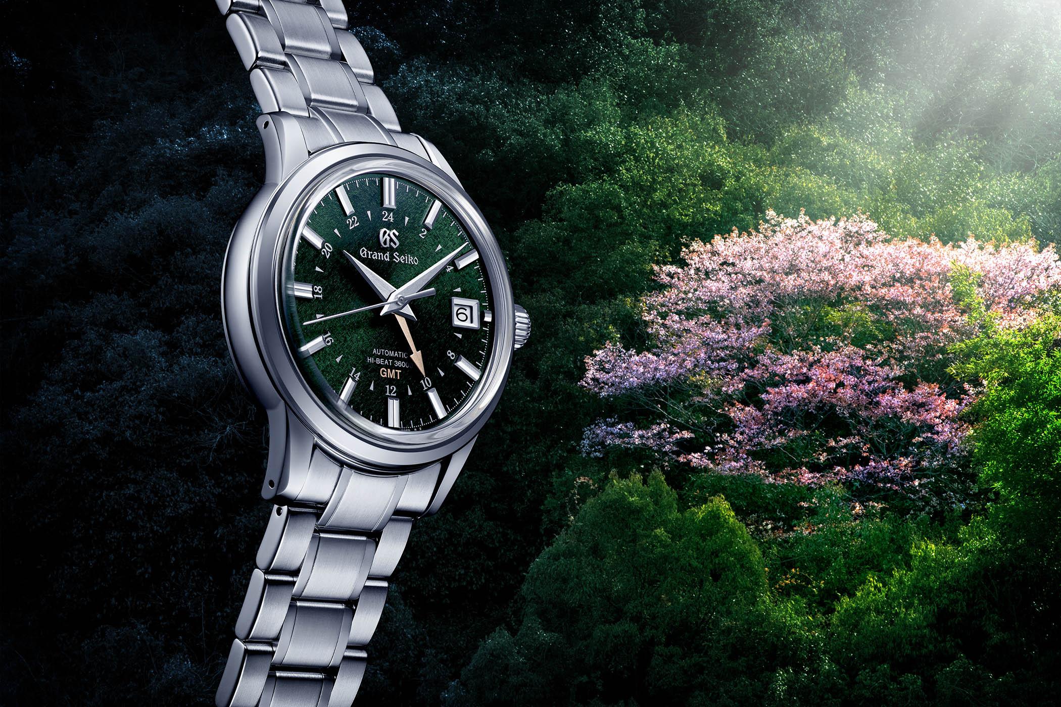 Grand Seiko Elegance GMT 24 Seasons SBGJ251G SBGJ249G SBGE271G SBGE269G