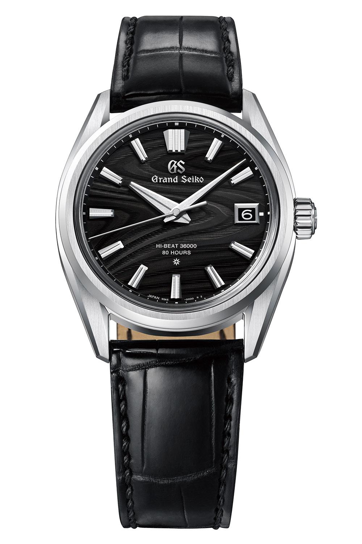 Grand Seiko Heritage Calibre 9SA5 Platinum wood grain dial SLGH007J