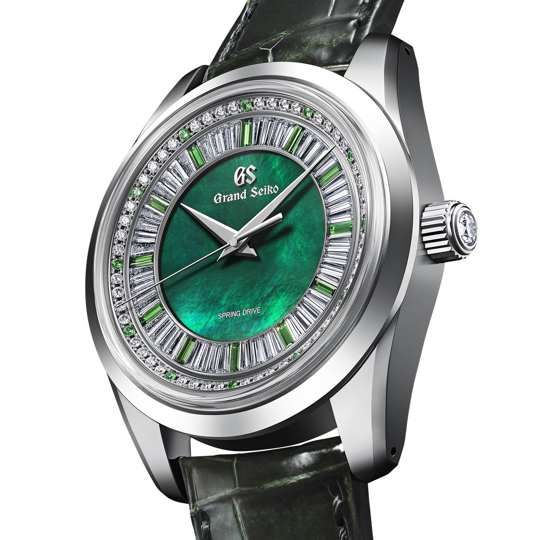 Grand Seiko Masterpiece Spring Drive 8 Day Jewelry Watch SBGD207