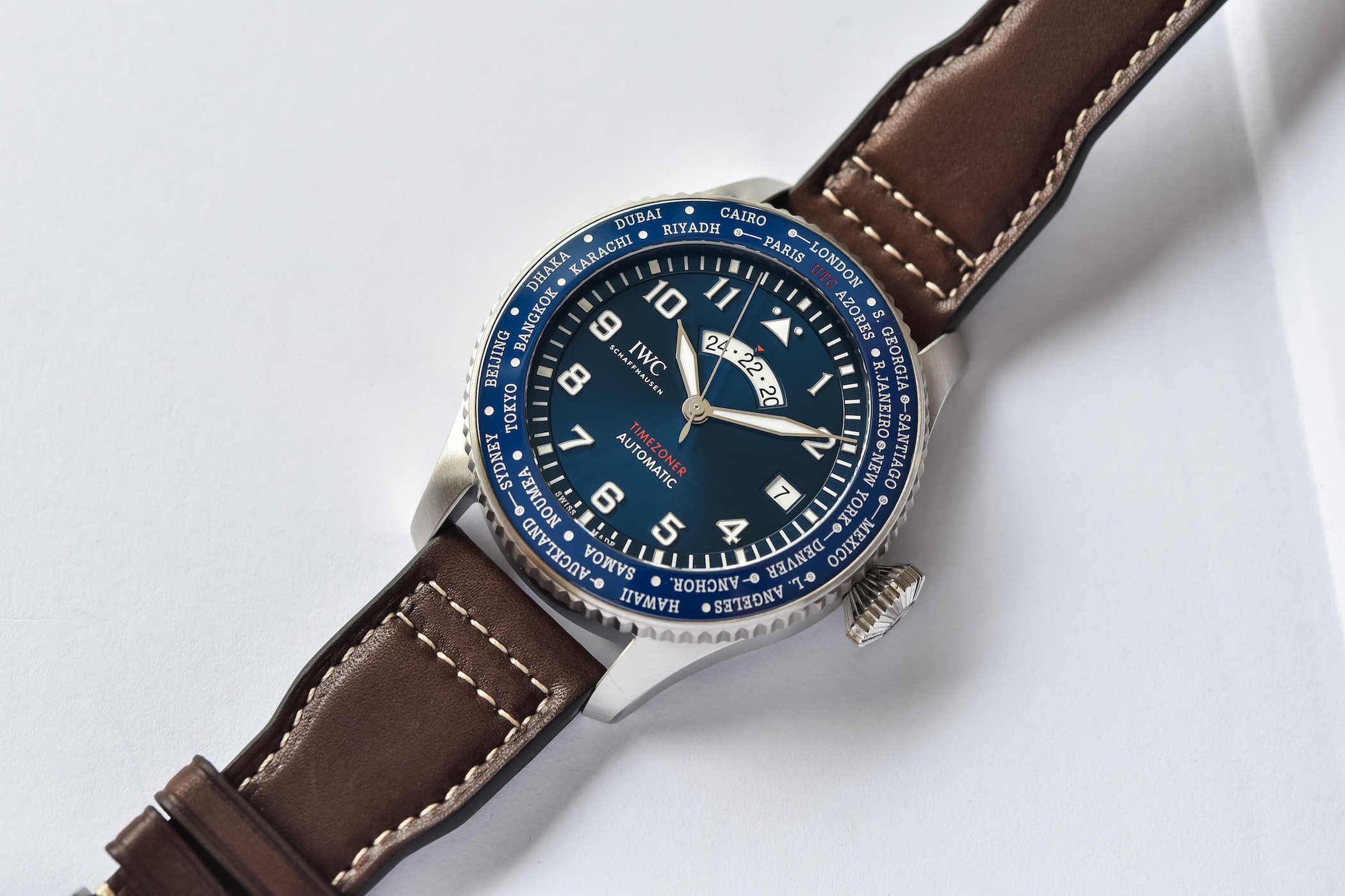 IWC Pilot's Watch Timezoner Edition Le Petit Prince IW395503