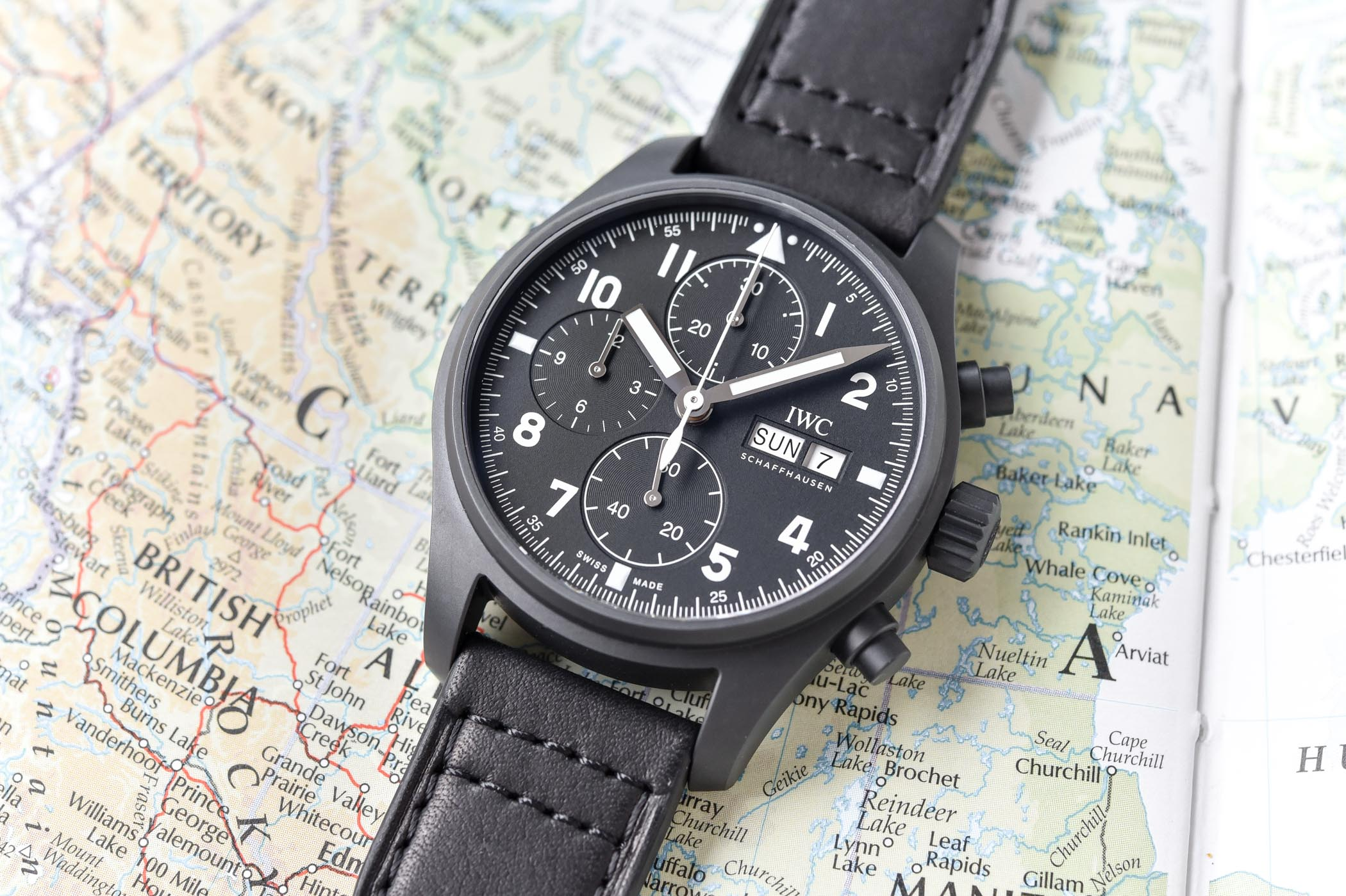 IWC Pilot's Watch Chronograph Edition Tribute to 3705 Ceratanium IW387905