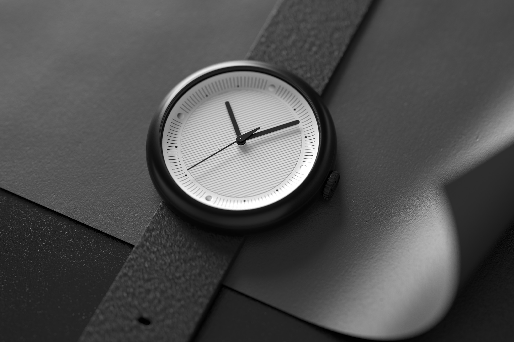 Objest Hach V Automatic Kickstarter - PETA Approved Vegan Swiss Watch
