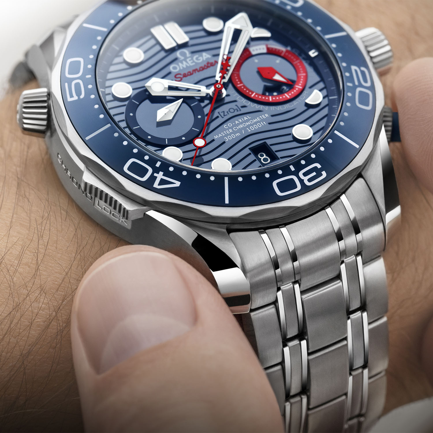 Omega Seamaster Diver 300M 36th Americas Cup Chronograph 210-30-44-51-03-002 - 5