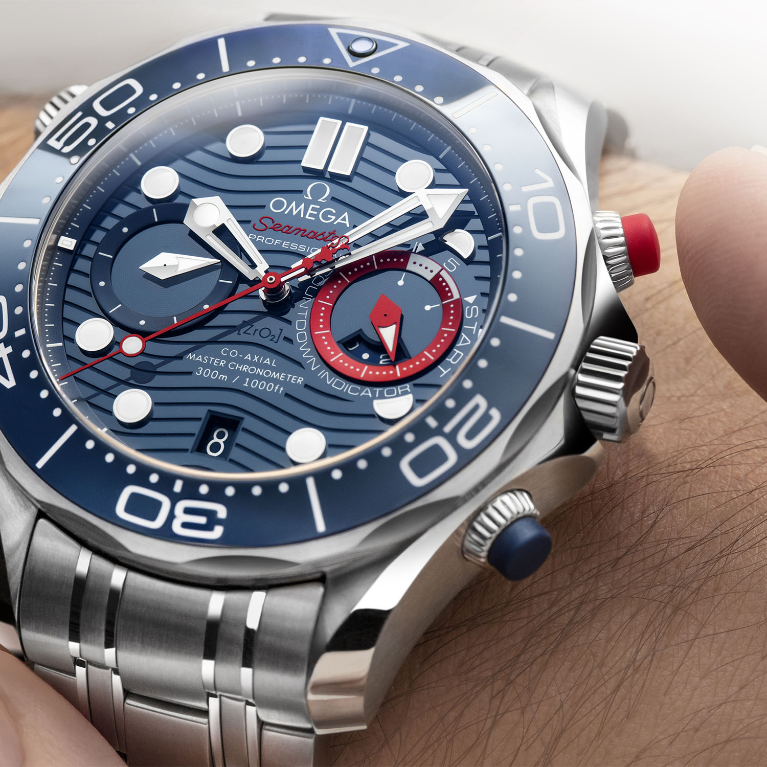 Omega Seamaster Diver 300M 36th Americas Cup Chronograph 210-30-44-51-03-002 - 6