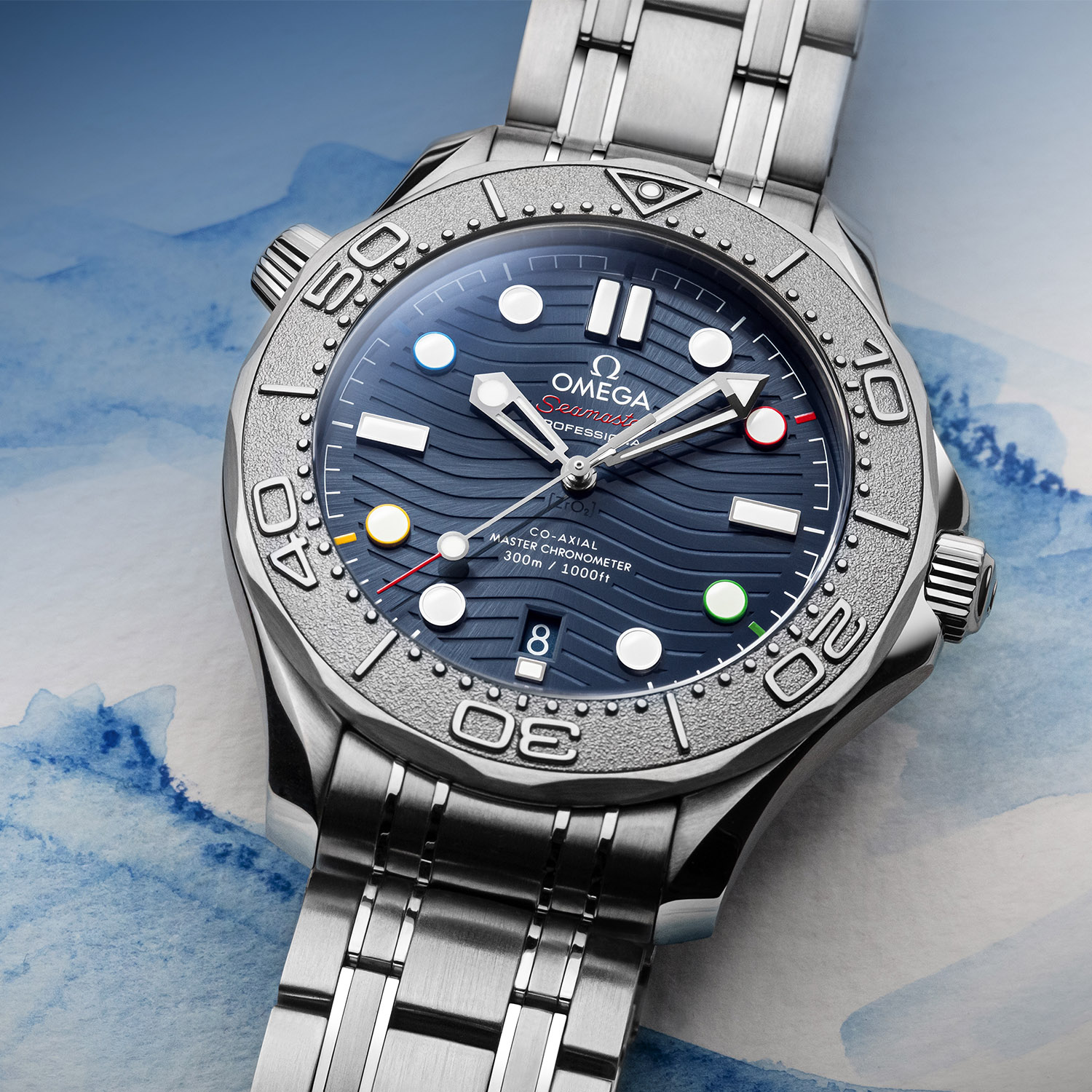 Omega Seamaster Diver 300M Beijing 2022 Special Edition 522-30-42-20-03-001 - 2