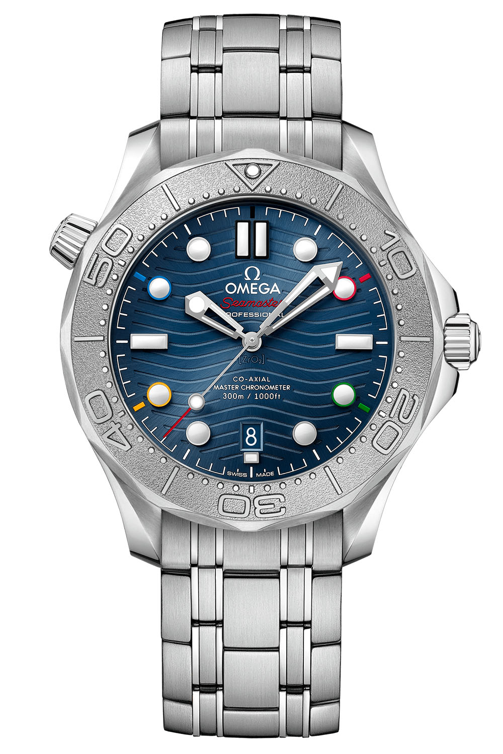 Omega Seamaster Diver 300M Beijing 2022 Special Edition 522-30-42-20-03-001 - 6