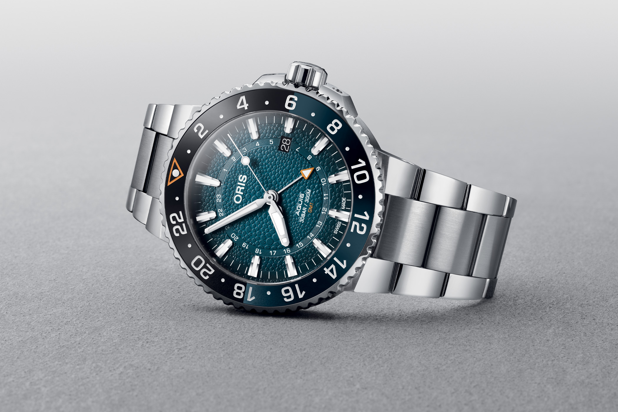 Oris Aquis GMT Date Whale Shark Limited Edition