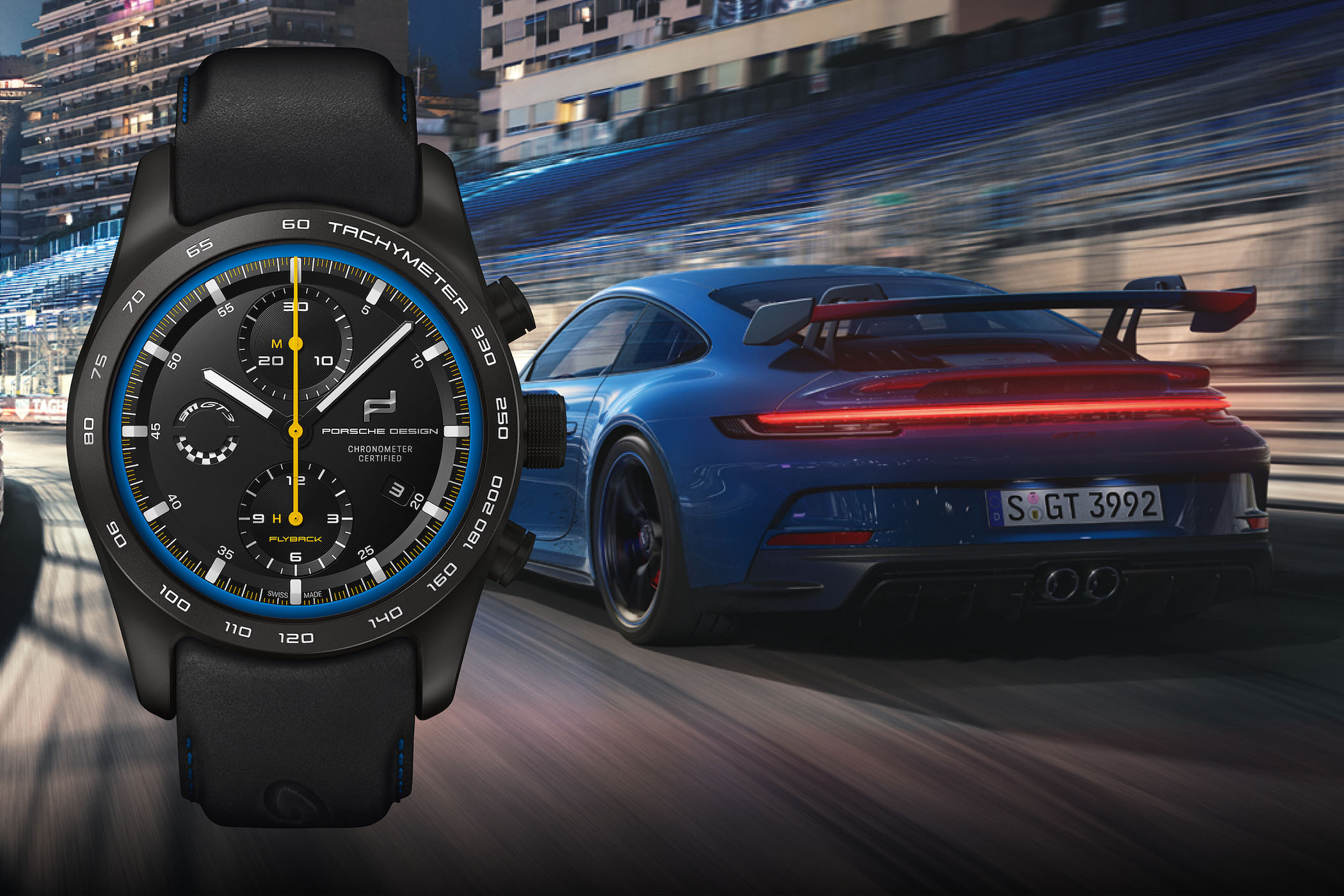 Porsche Design Chronograph 911 GT3 Inspired by The New Porsche 992 GT3 2021