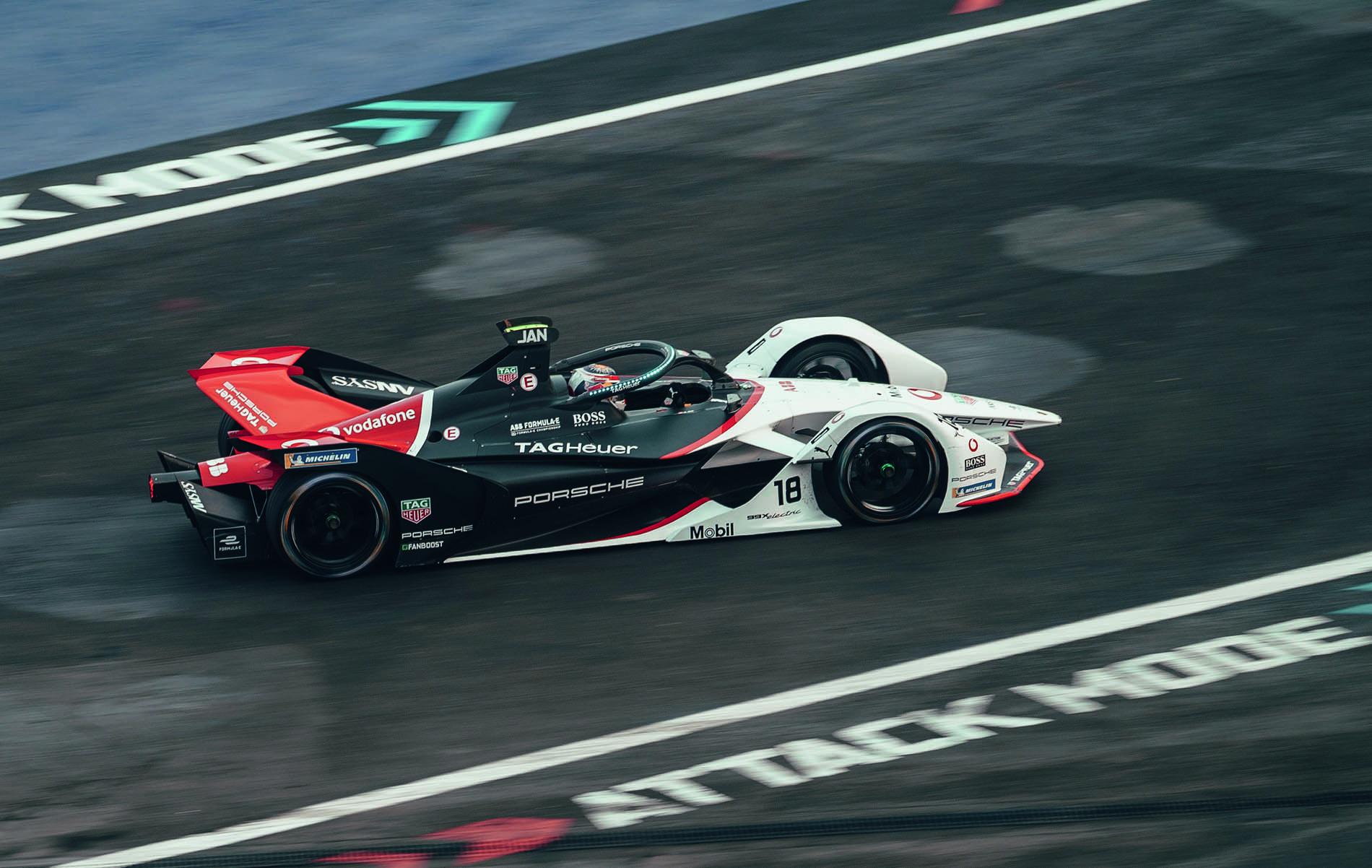 Porsche Formula E TAG Heuer
