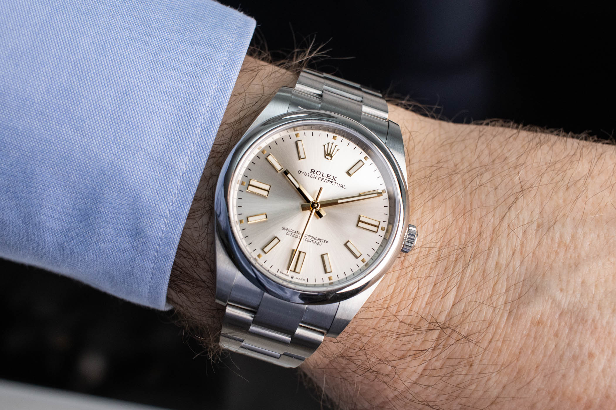 Rolex Oyster Perpetual 41 silver dial 124300-0001 - review