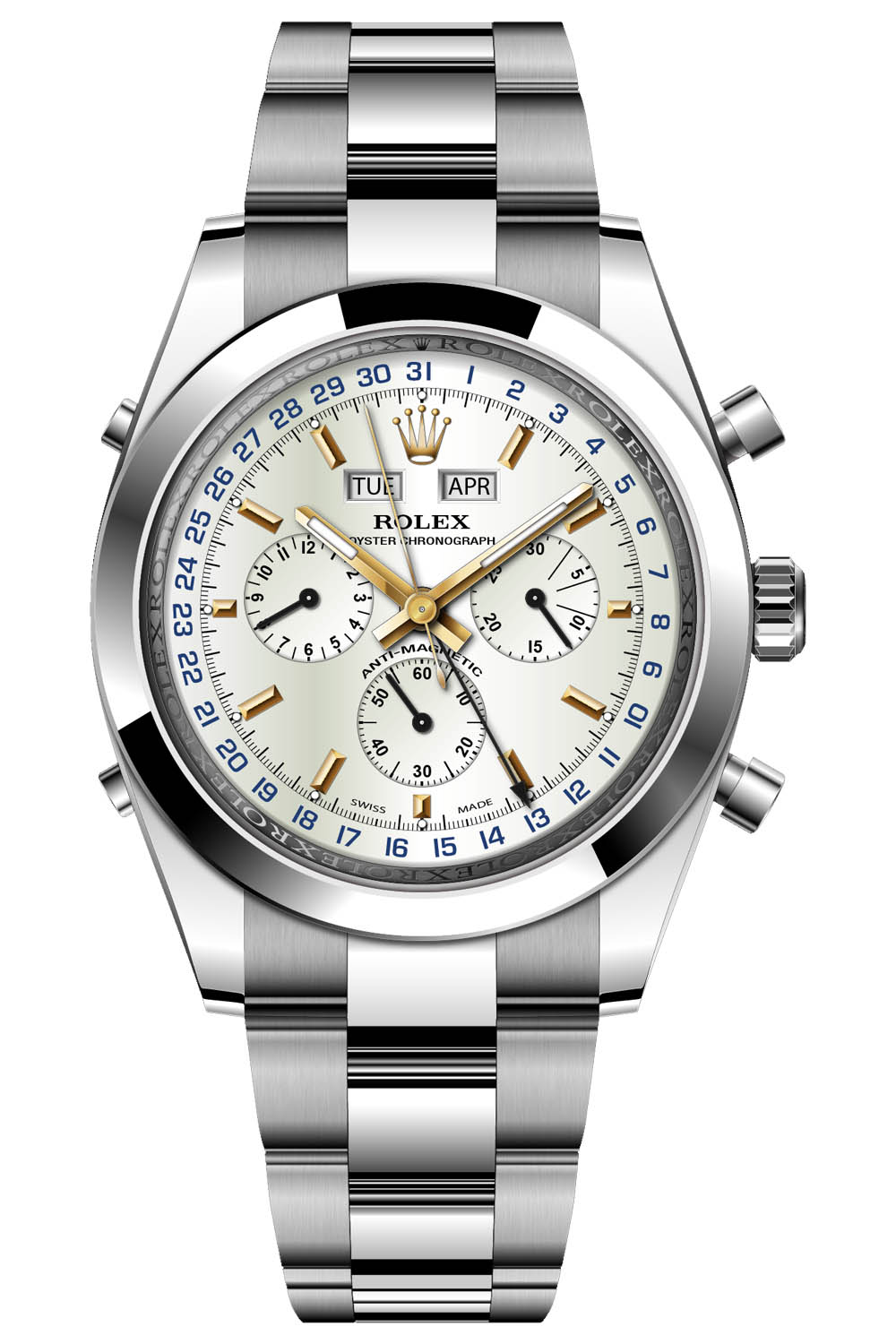 Rolex Predictions 2021 - Return of the Rolex Dato Compax Jean Claude Killy
