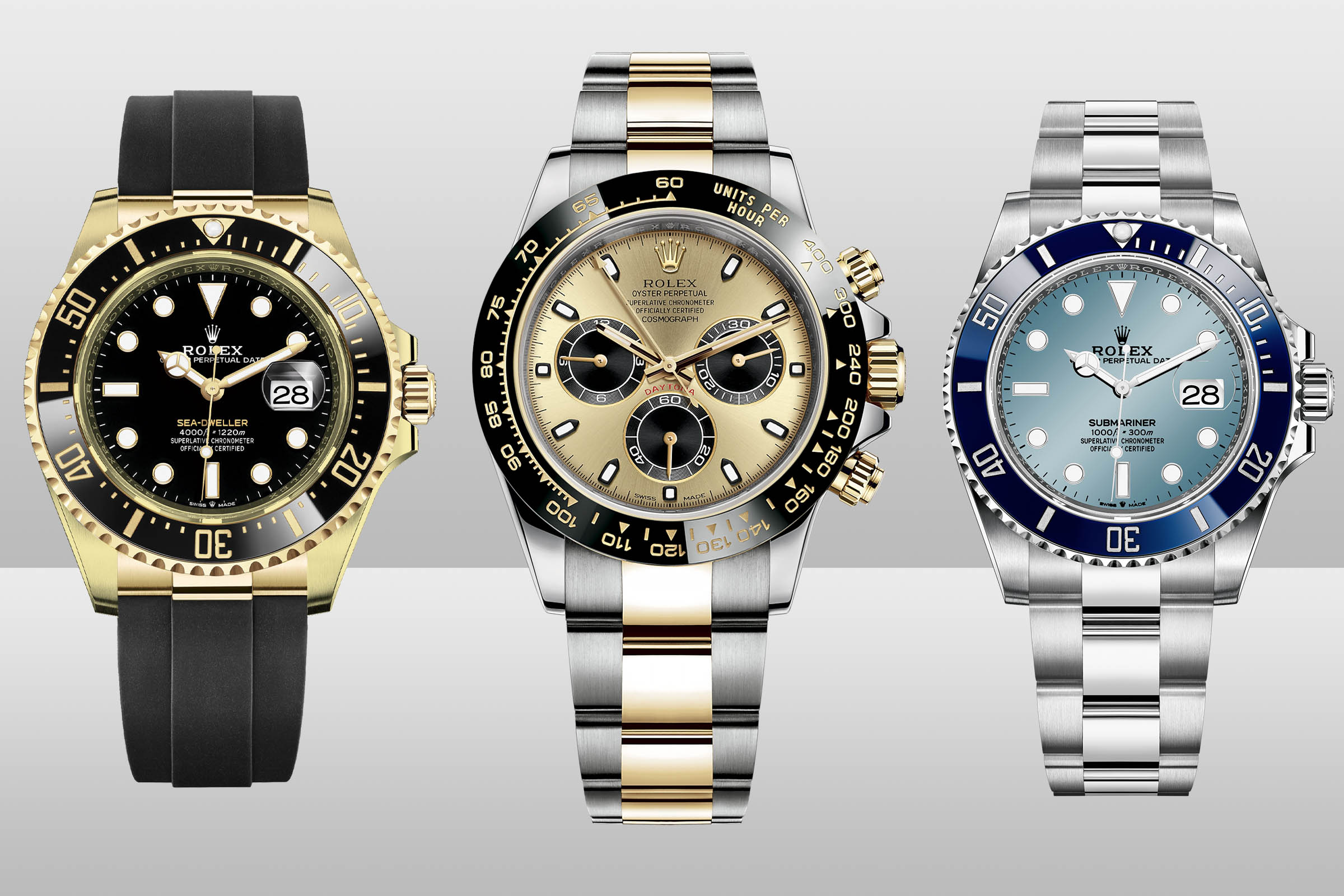 Rolex Predictions 2021 - Rolex New models 2021 - New Versions Submariner Daytona Sea-Dweller 2021