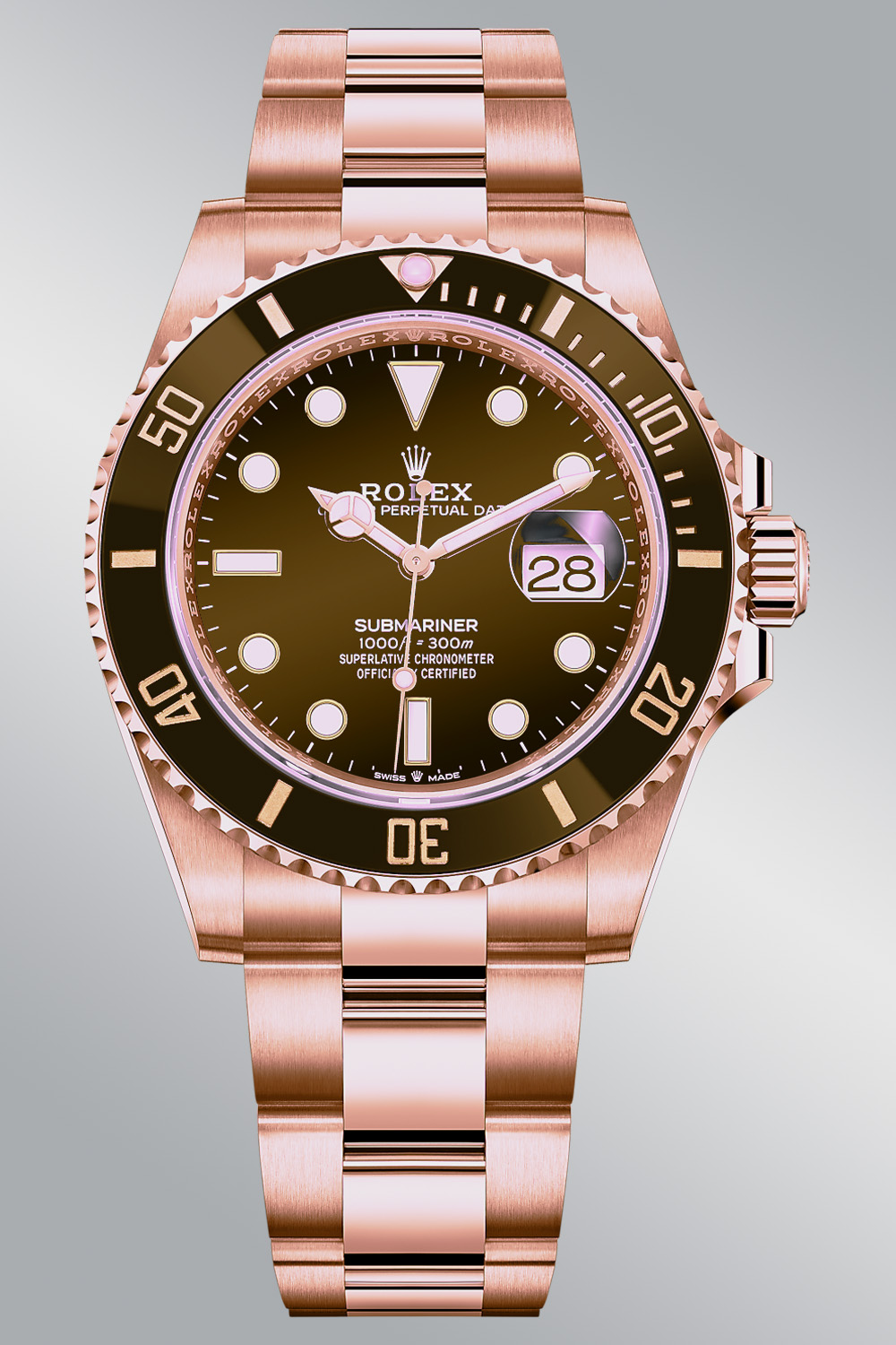 Rolex Predictions 2021 - Rolex New models 2021 - Rolex Submariner 41mm Everose brown bezel 126605CH