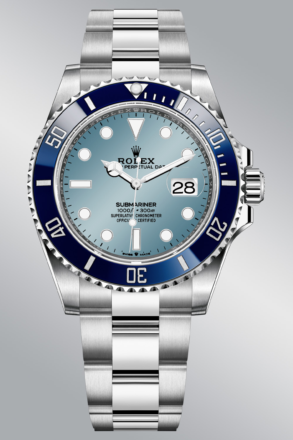 Rolex Predictions 2021 - Rolex New models 2021 - Rolex Submariner 41mm Platinum blue bezel 126606LB