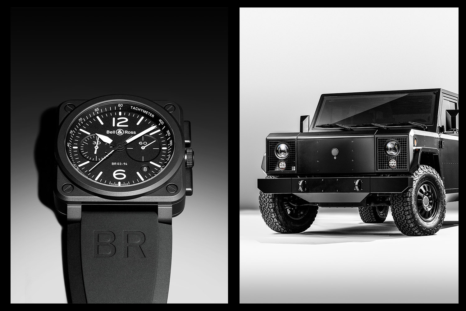 In Conversation with Bruno Belamich, Co-Founder of Bell & Ross, On Design, Cars and Bollinger Motors - Monochrome Watches