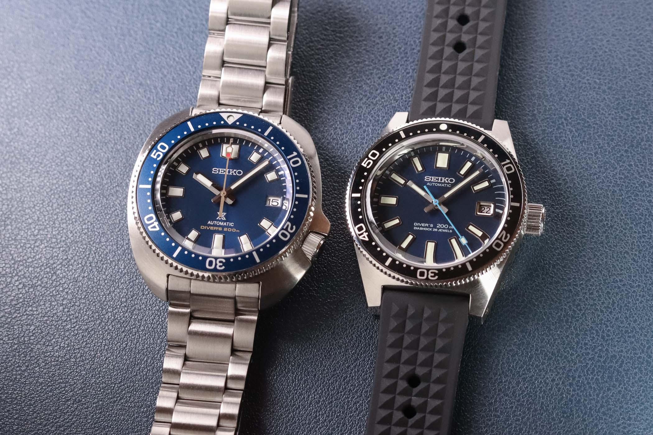 Seiko Prospex Divers 55th Anniversary SLA043J1 and SPB183J1