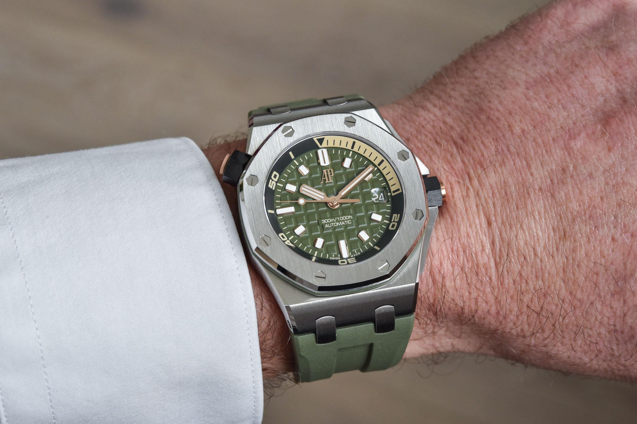 2021 Audemars Piguet Royal Oak Offshore Diver 42mm - 15720ST
