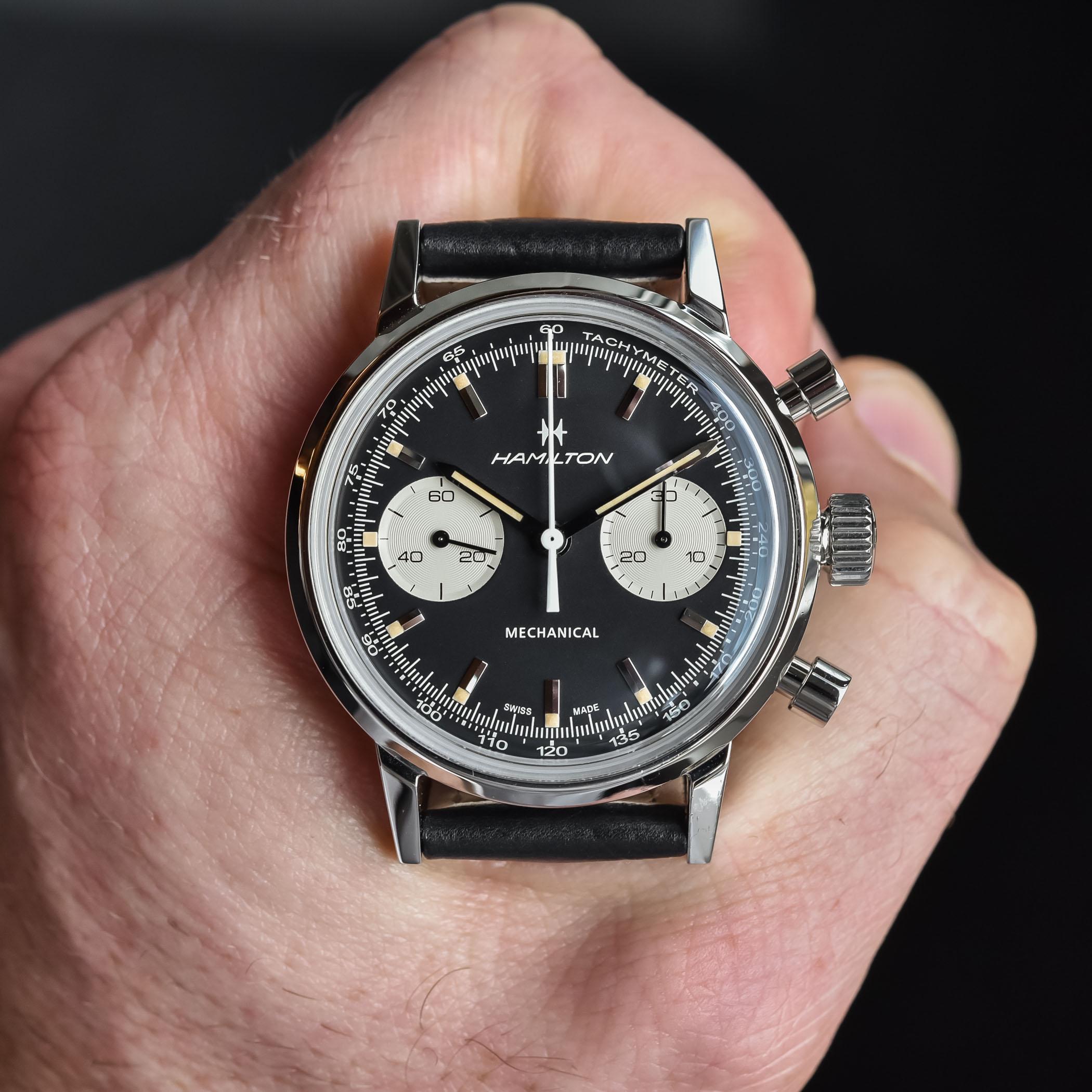 2021 Hamilton Intra-Matic Chronograph H Hand-Wound H38429730