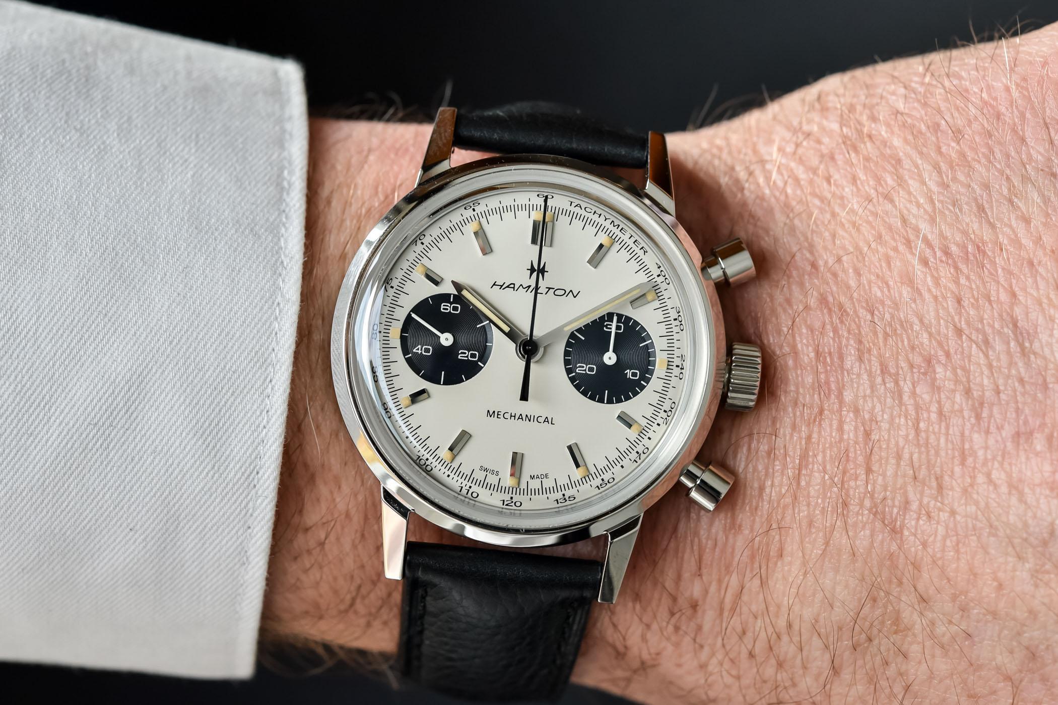 2021 Hamilton Intra-Matic Chronograph H Hand-Wound H38429710