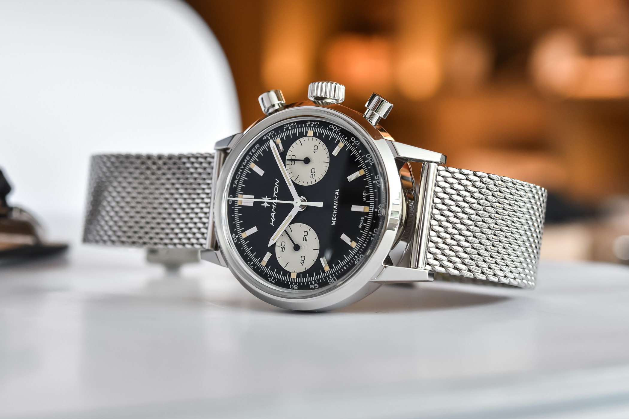 2021 Hamilton Intra-Matic Chronograph H Hand-Wound H38429130
