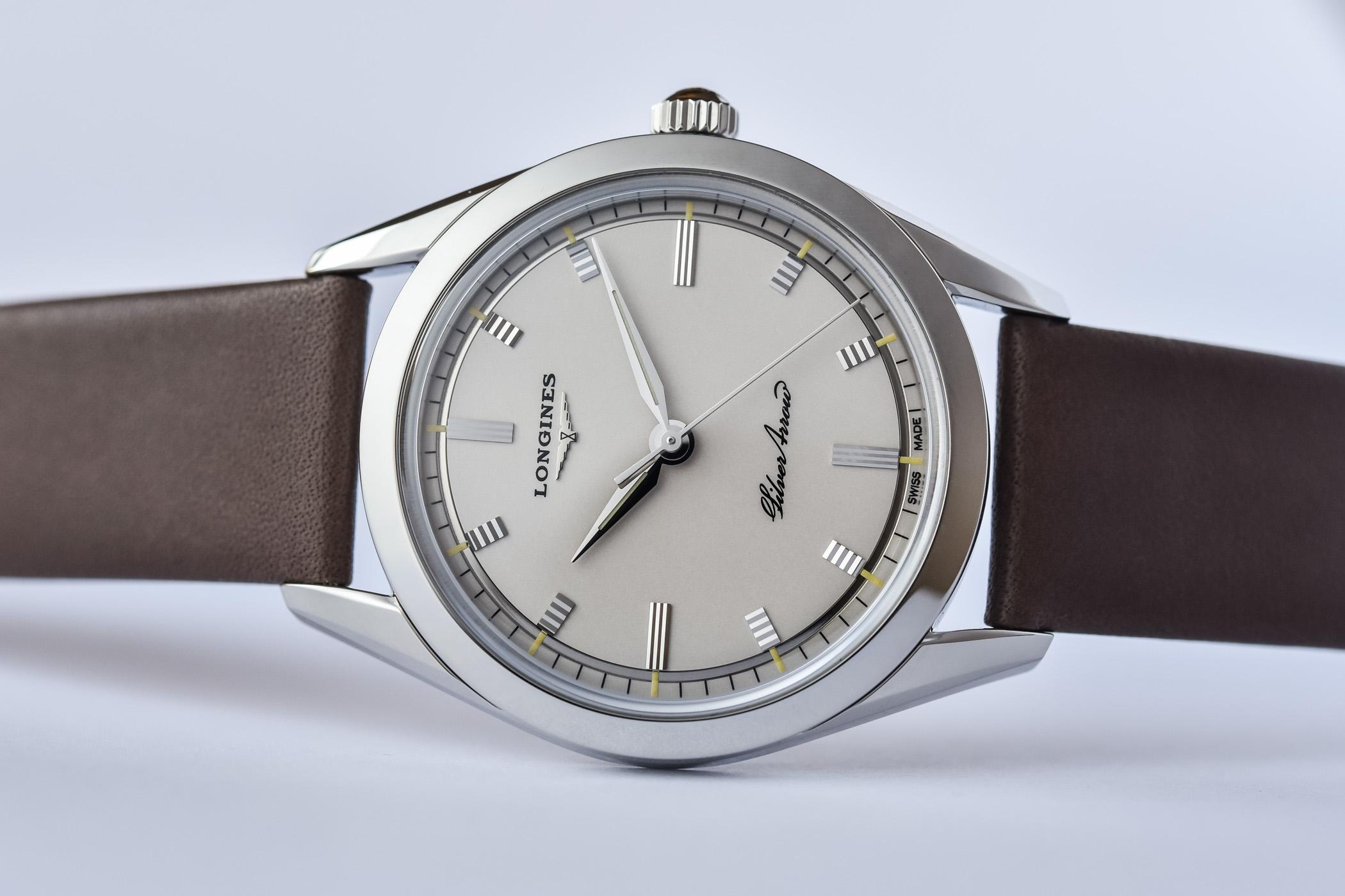 2021 Longines Silver Arrow - L2.834.4.72.2