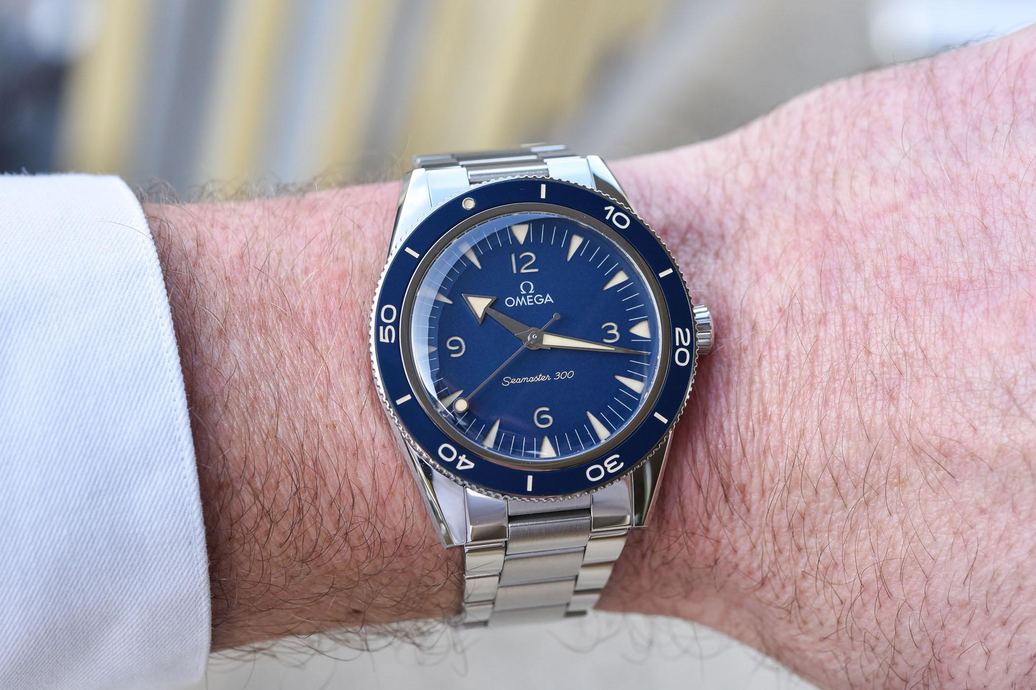 2021 Omega Seamaster 300 steel blue dial 234.30.41.21.03.001