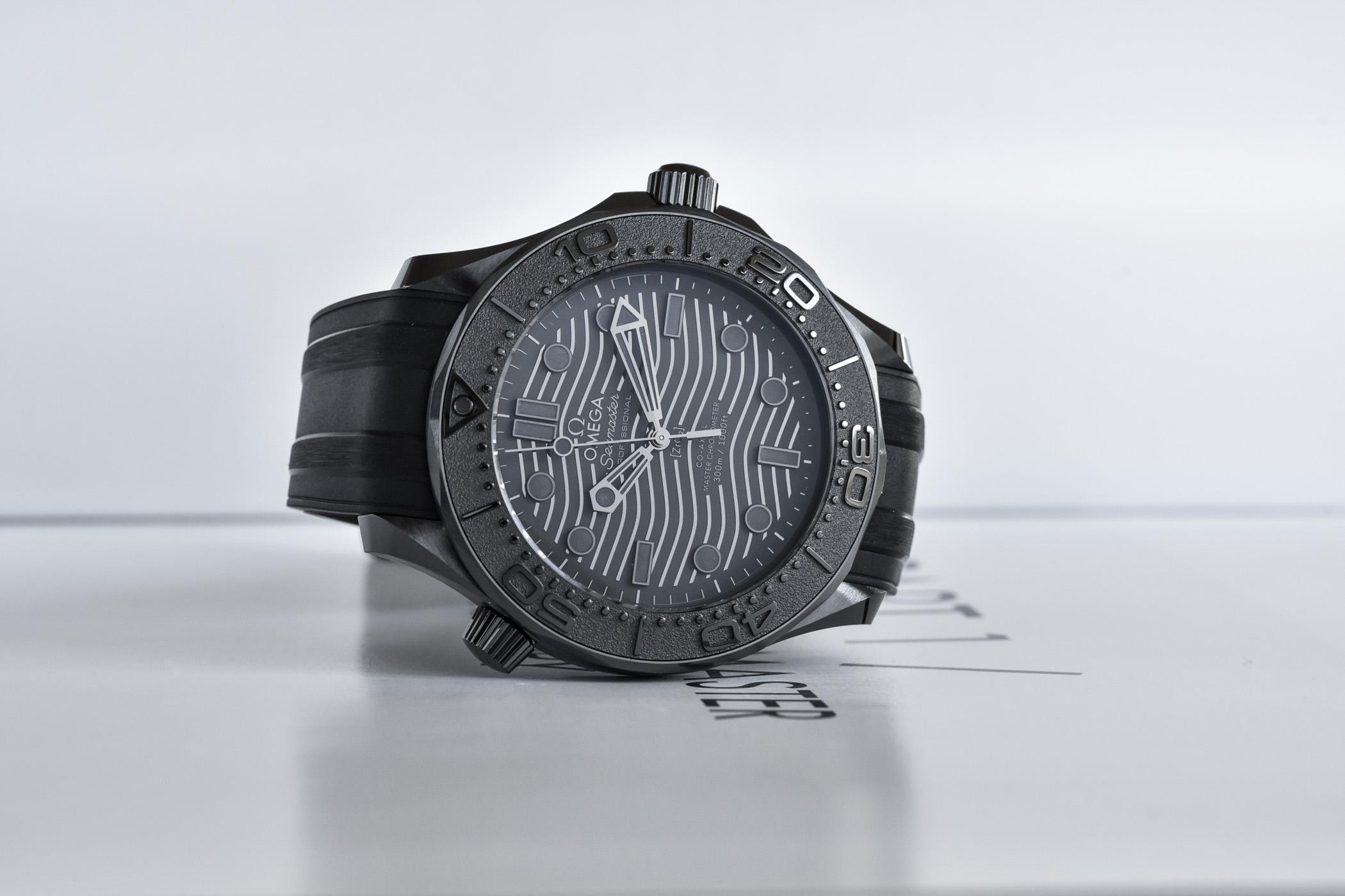 2021 Omega Seamaster Diver 300M Black Black 210.92.44.20.01.003