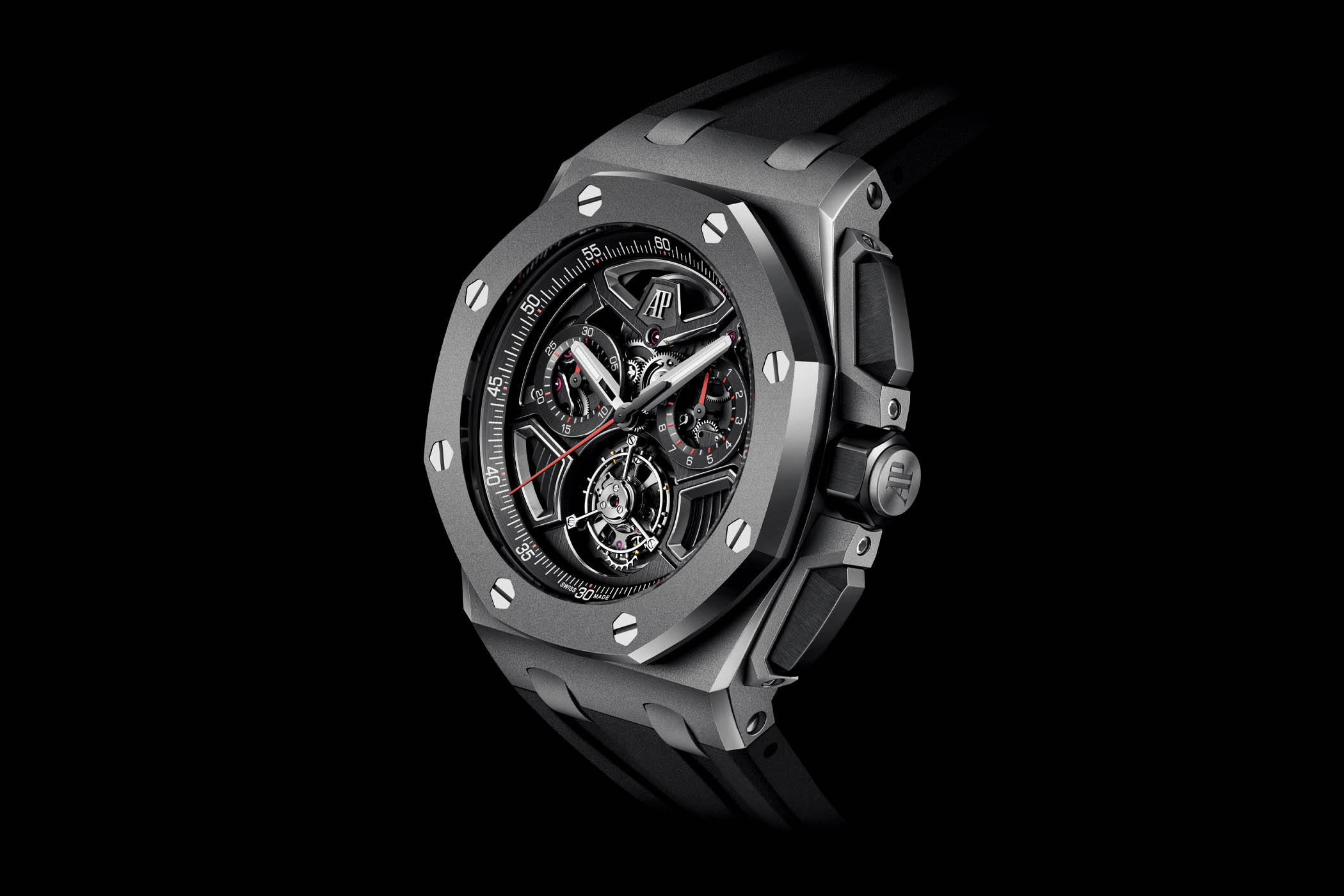 Audemars Piguet Royal Oak Offshore Selfwinding Flying Tourbillon Flyback Chronograph 26622TI