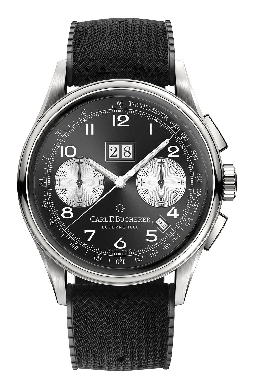 Carl F. Bucherer Heritage Bicompax Annual Black dial - 4