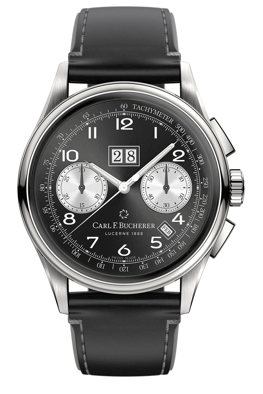 Carl F. Bucherer Heritage Bicompax Annual Black dial - 5